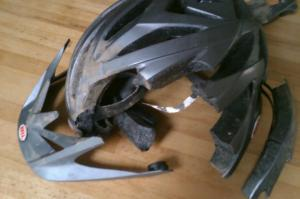 Broken-Helmet-Cwm-Carn-Crash
